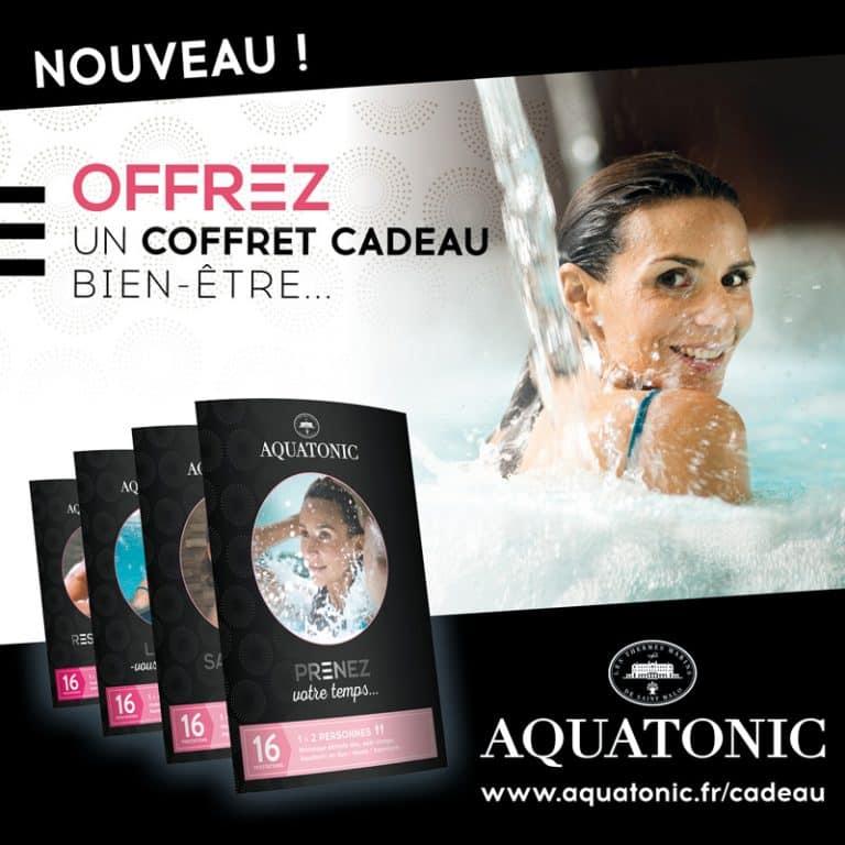 Nos nouveaux coffrets cadeaux Aquatonic