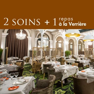 2 soins et un menu traditionnel