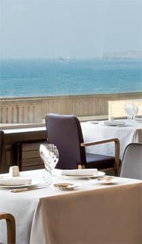 Restaurant Cap Horn vue mer