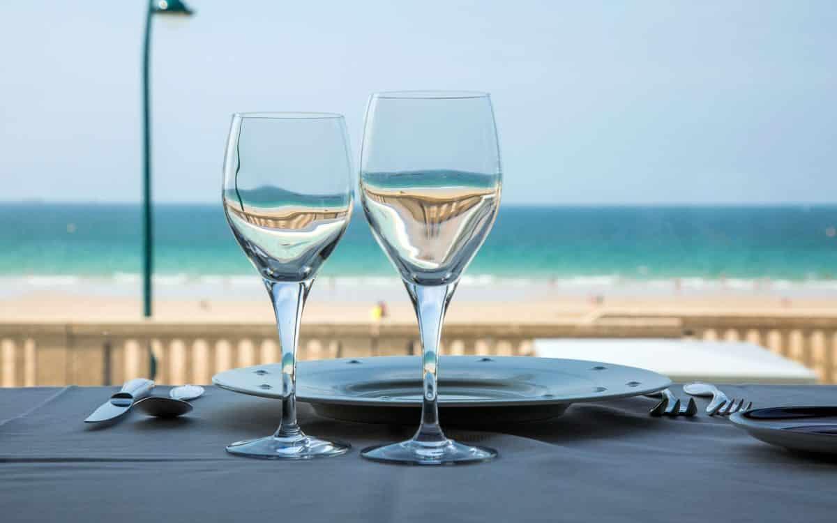 Déjeuner vue mer à Saint malo