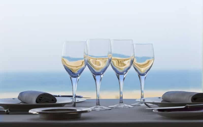 Un repas vue sur mer