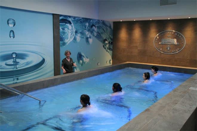 r novation des couloirs de thalasso et des piscines de soins