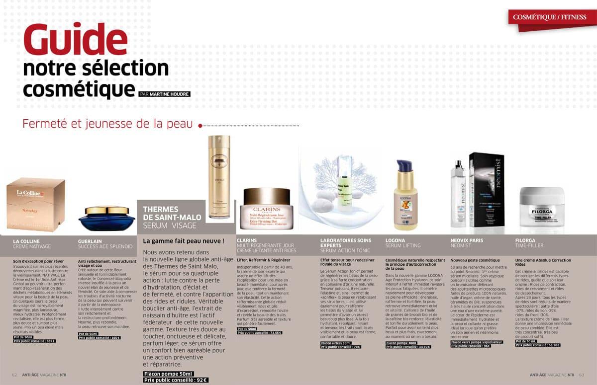 selection cosmetique