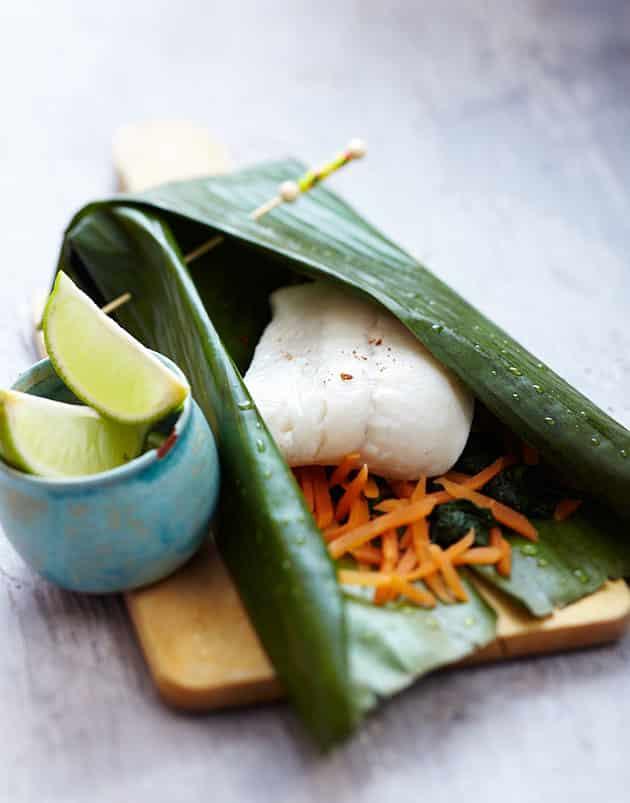 papillotte de lieu - recette diététique