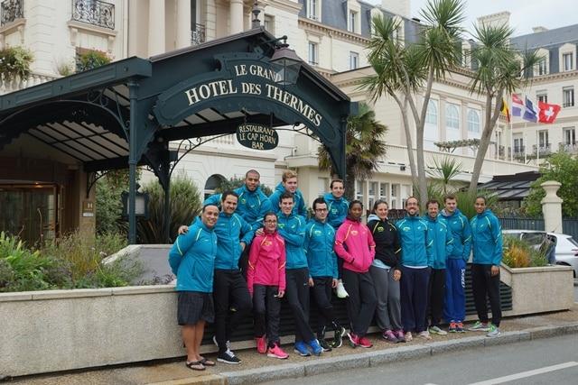 Les athlètes français aux Thermes Marins de Saint-Malo 1