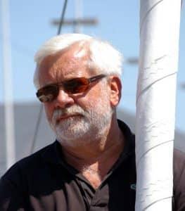Bob Escoffier au départ de la Route du Rhum – Destination Guadeloupe