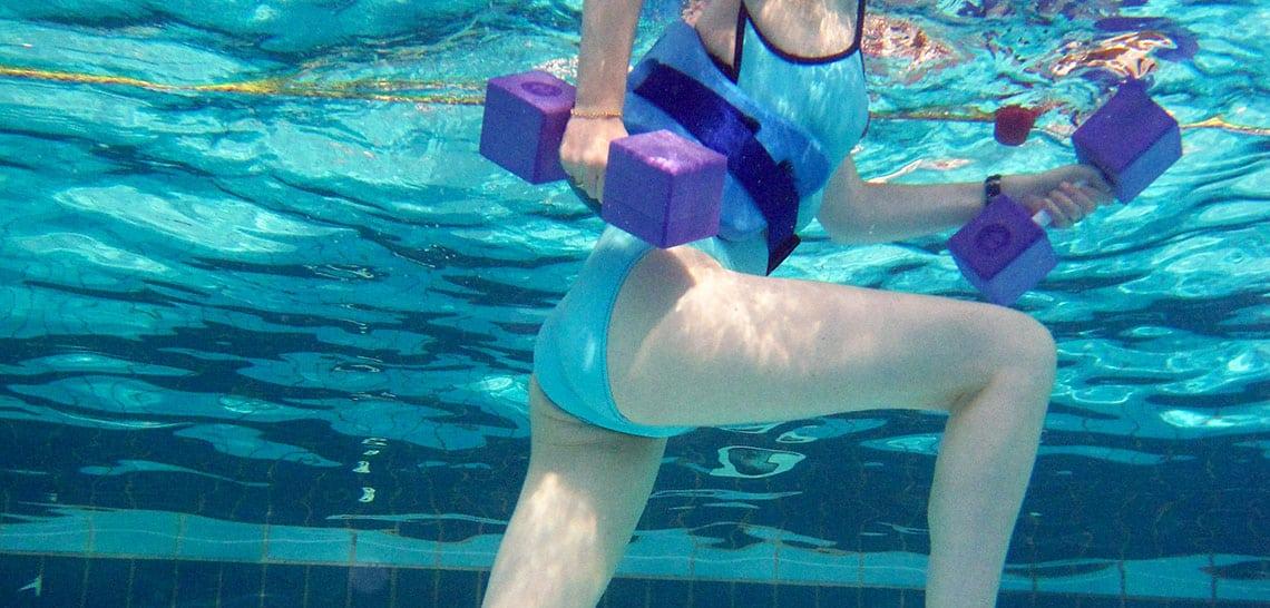 thalasso : sport dans l'eau de mer