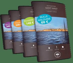 Offrez un Coffret Cadeau Destination Saint-Malo