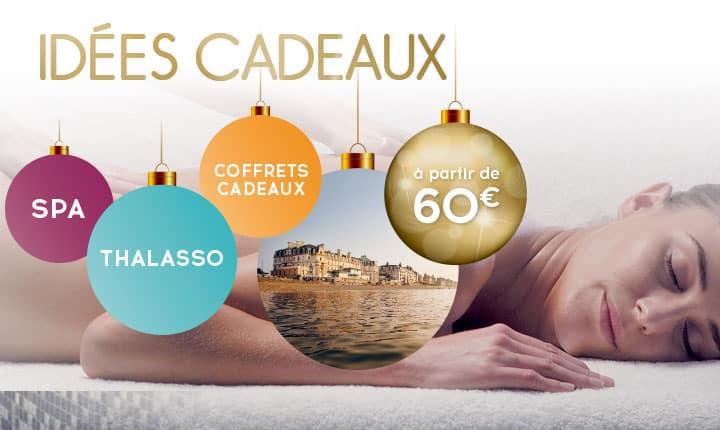 Idée Cadeau Noël Thalasso, Spa