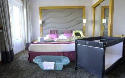 Matériel bébé au Grand Hôtel des Thermes
