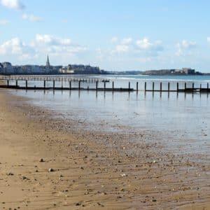 vue plage sillon