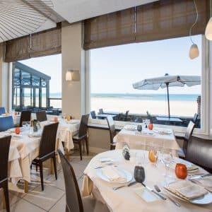 Restaurant Antinéa vue sur mer