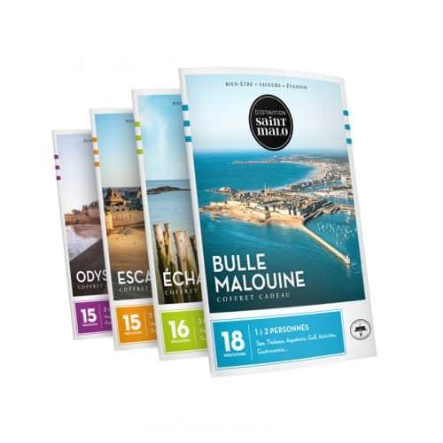 Coffrets cadeaux Destination Saint-Malo