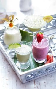 Smoothie et Milk-shake