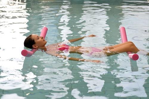 méditer dans l'eau