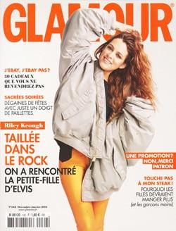Magazine Glamour janvier 2018