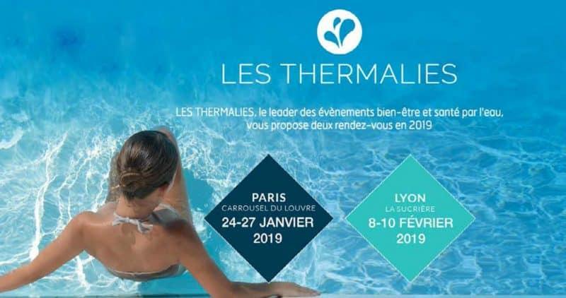 Salons Les Thermalies à Paris et à Lyon