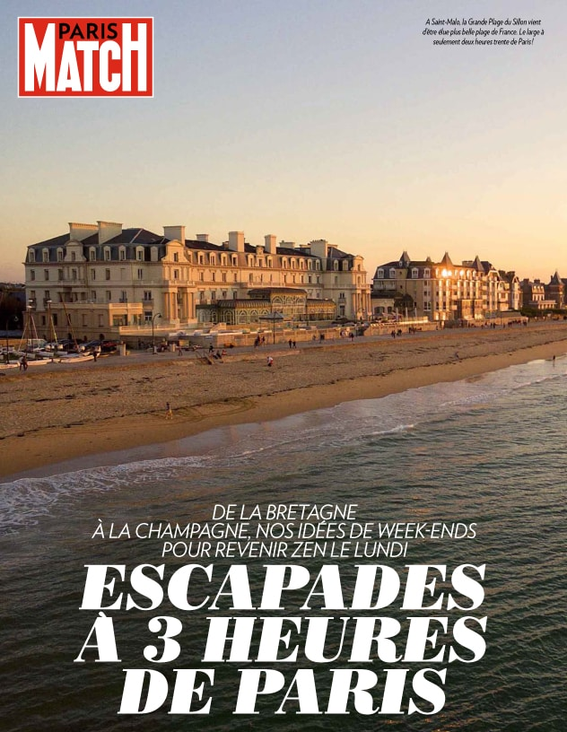 Magazine Paris Match sur les Thermes Marins de Saint-Malo