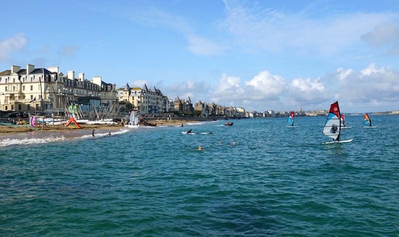 l'été à Saint-Malo