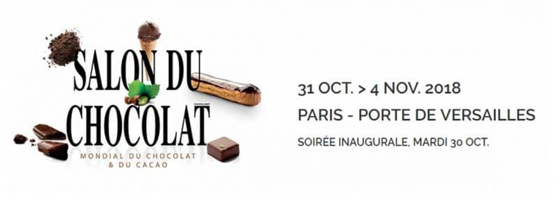 Salon du chocolat à Paris