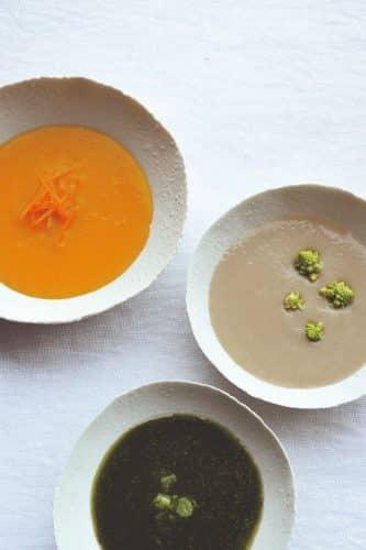 Recettes de soupes par Patrice Dugué