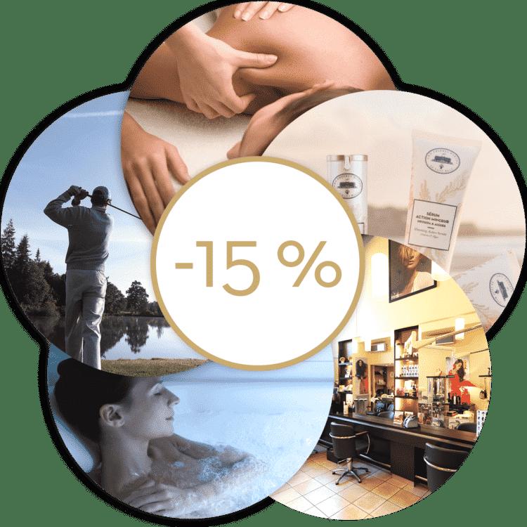 Avantage abonnées Club Forme : -15% sur de nombreux produits