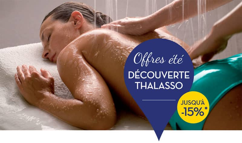 """Offres Thalasso """"Spécial été"""" : Profitez-en !"""