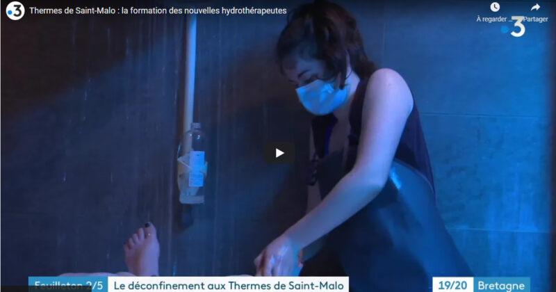 Les Thermes Marins de Saint-Malo sur France 3