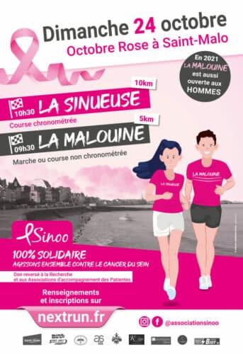 Octobre Rose à Saint-Malo 1